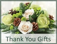 Thank you flowers, gift baskets by Carithers Flowers Atlanta
