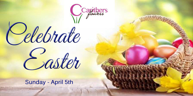 Voted Best Florist Atlanta by Consumer Choice Awards. Carithers Flowers delivers unique Easter Flowers, Gifts, and Easter Baskets. Local Atlanta Florist family-owned over 40 years.