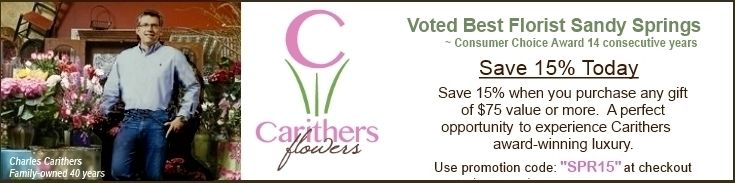 Voted Best Local Florist to Sandy Springs GA