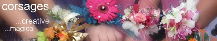 Prom Flowers - Custom Corsages