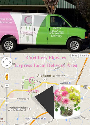 Flower Delivery Alpharetta GA, Carithers Flowers