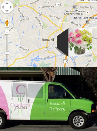 Carithers Flowers Roswell GA, Express Flower Delivery Roswell
