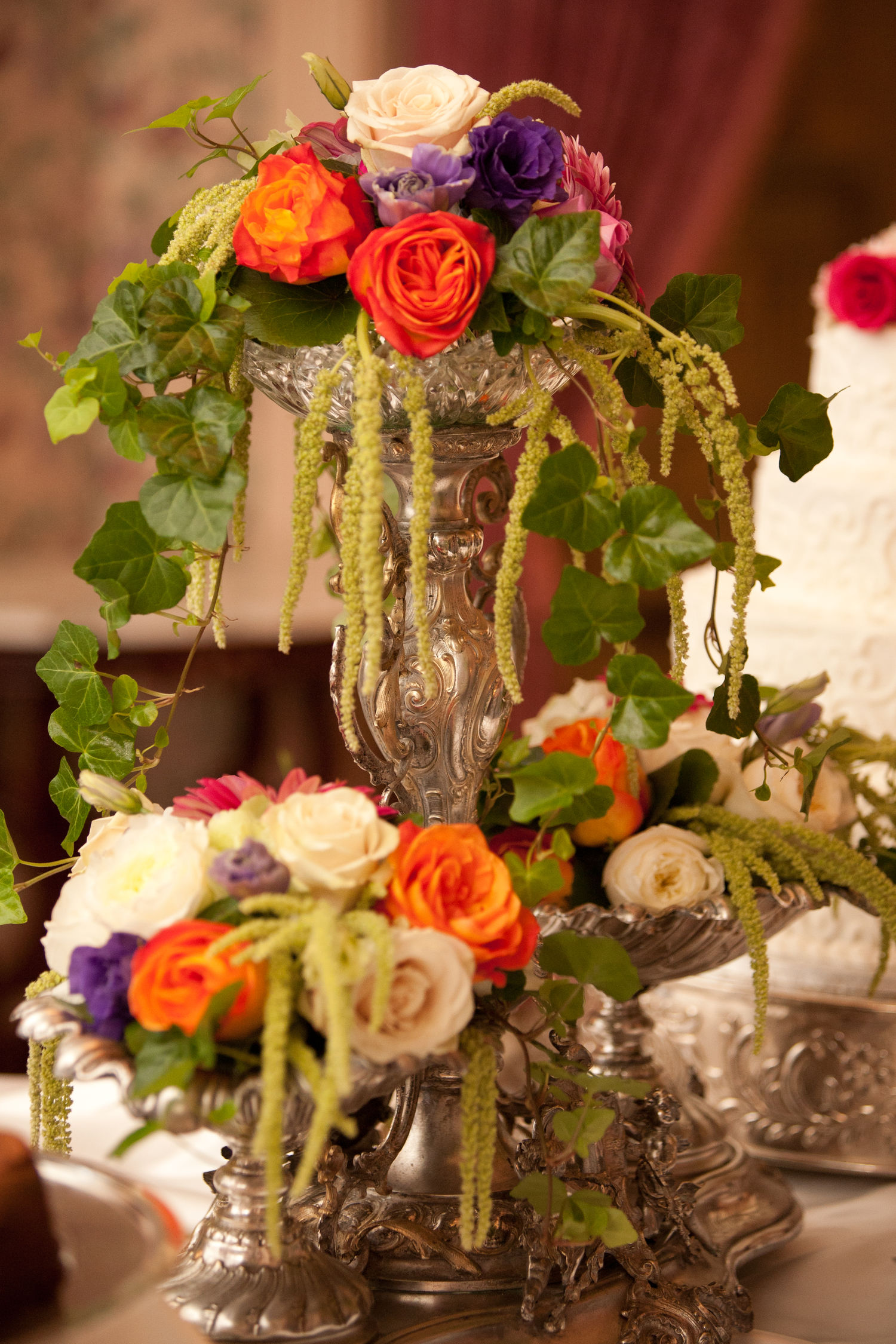 Wedding Reception Flowers Centerpieces Decorations