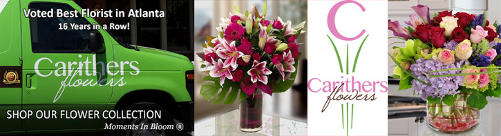 Carithers Flowers | 2017 Winner Best Local Florist in Atlanta