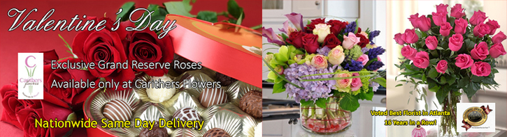 Valentine Flowers - Flower Delivery Atlanta
