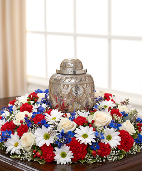 The American Patriot Cremation Wreath