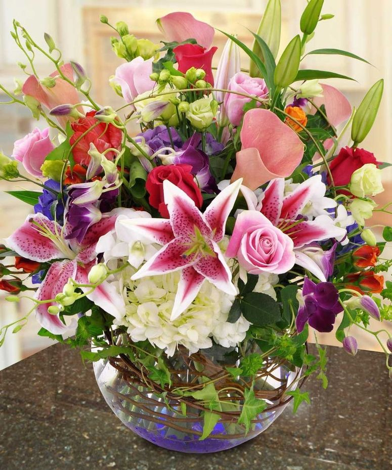 Flower Delivery Photos