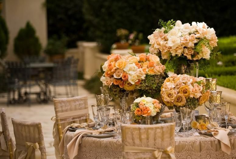 Carithers Events and Weddings Outdoor Summer Romance with roses