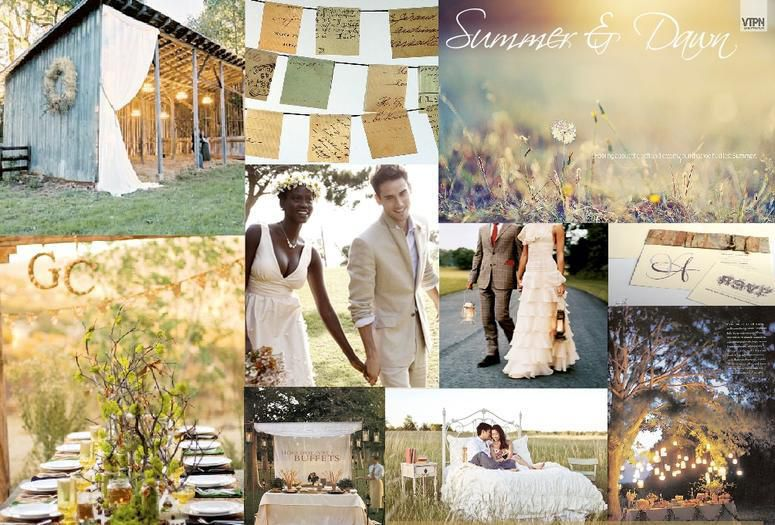 Carithers Wedding and Events Summer Morning Color Palette